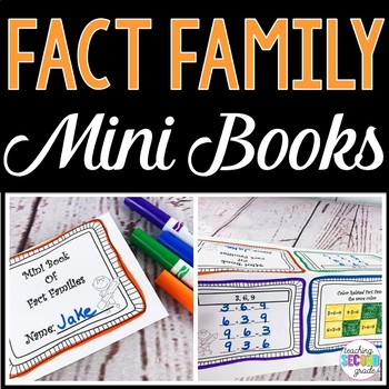 Fact Family Worksheets 1st Grade Fact Families Addition Subtraction