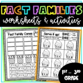 Fact Families | Independent Work Packet