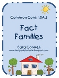 Fact Family Addition and Subtraction Puzzles (Common Core 1.0A.3)