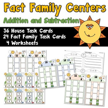 Fact Family Centers Addition/Subtraction