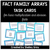 Fact Family Array Task Cards: Multiplication and Division