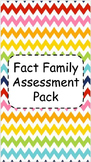Fact Family Assessment Pack