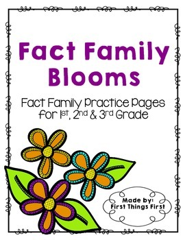 Fact Family Blooms