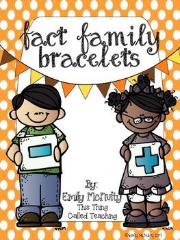 Fact Family Bracelets
