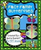 Fact Family Butterflies CCSS Aligned