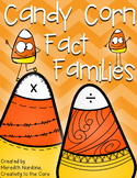Fact Family Candy Corns - Multiplication/Division
