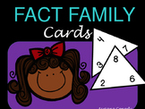 Fact Family Cards Addition and Subtraction
