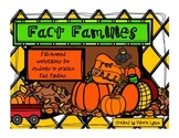 Fact Family Center Activities for Fall