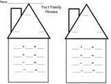 Fact Family Center Activity
