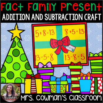 Fact Family Present- Winter or Christmas Craft