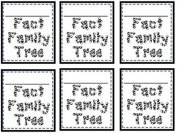 Fact Family Christmas Tree
