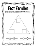 Fact Family Dice Game