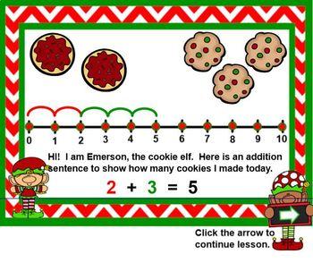 Fact Family Elves - Building Understanding of Number Families SMARTBOARD