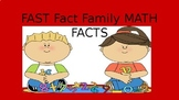 Fact  Family Fast Math Facts