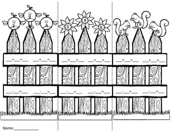 Fact Family Fences
