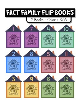 Fact Family Flip Books - Addition and Subtraction