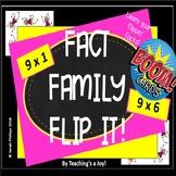 First Dozen Free Fact Family Flip It! BOOM! 9's (to 9 x 6) Digital Fact Fluency