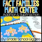 Fact Family Flowers: A Fact Family Center