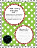 Addition/Subtraction Fact Family Flowers (Set A)