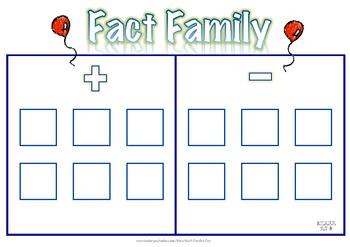 Fact Family Frame