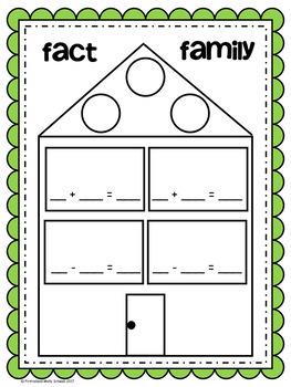 Fact Family Freebie