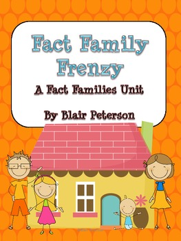 Fact Family Frenzy: A Fact Families Unit