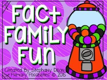 Fact Family Fun!