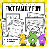 Fact Family Activities and Games