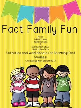 Fact Family Fun: A freebie!