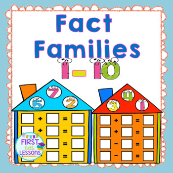 Fact Family Fun Addition And Subtraction: 1 Thru 10