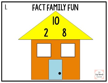 Fact Family Fun Facts to 10