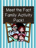 Fact Family Fun Packet by Learning 4 Keeps!