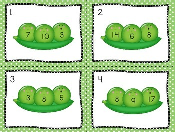 Fact Family Fun with Peas in a Pod (Activity and Craft)