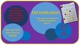 Fact Family Game!