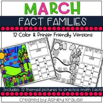 Fact Family: March Garden
