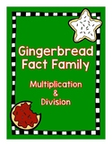 Fact Family Gingerbread House Multiplication & Division