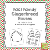 Fact Family Gingerbread Houses