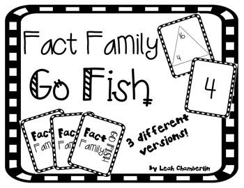 Fact Family Go Fish