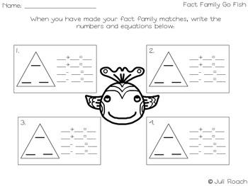 Fact Family Go Fish ~2.NBT.5