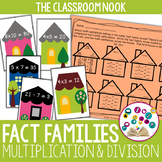 Go Fish:  Fact Family {Multiplication and Division}
