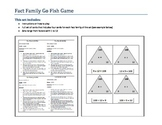Fact Family Go Fish - Sixes Multiplication Set