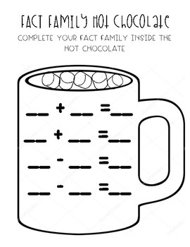 Fact Family Hot Chocolate