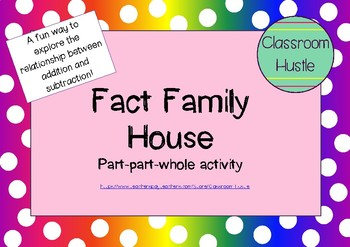 Fact Family House - Addition & Subtraction fun!