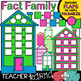 Fact Family House Clipart BUNDLE KIT * Foldables