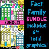 Fact Family House Clipart BUNDLE