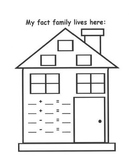 Fact Family House Freebie