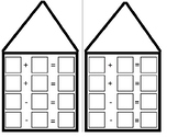 Fact Family House Template
