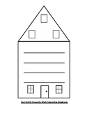 Fact Family House for Interactive Math Notebook