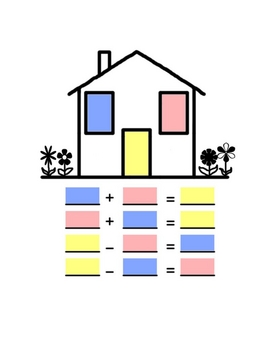 Fact Family House lesson
