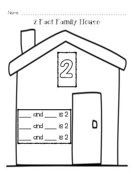 Fact Family Houses 2-10